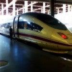 AVE ruta Madrid-Barcelona