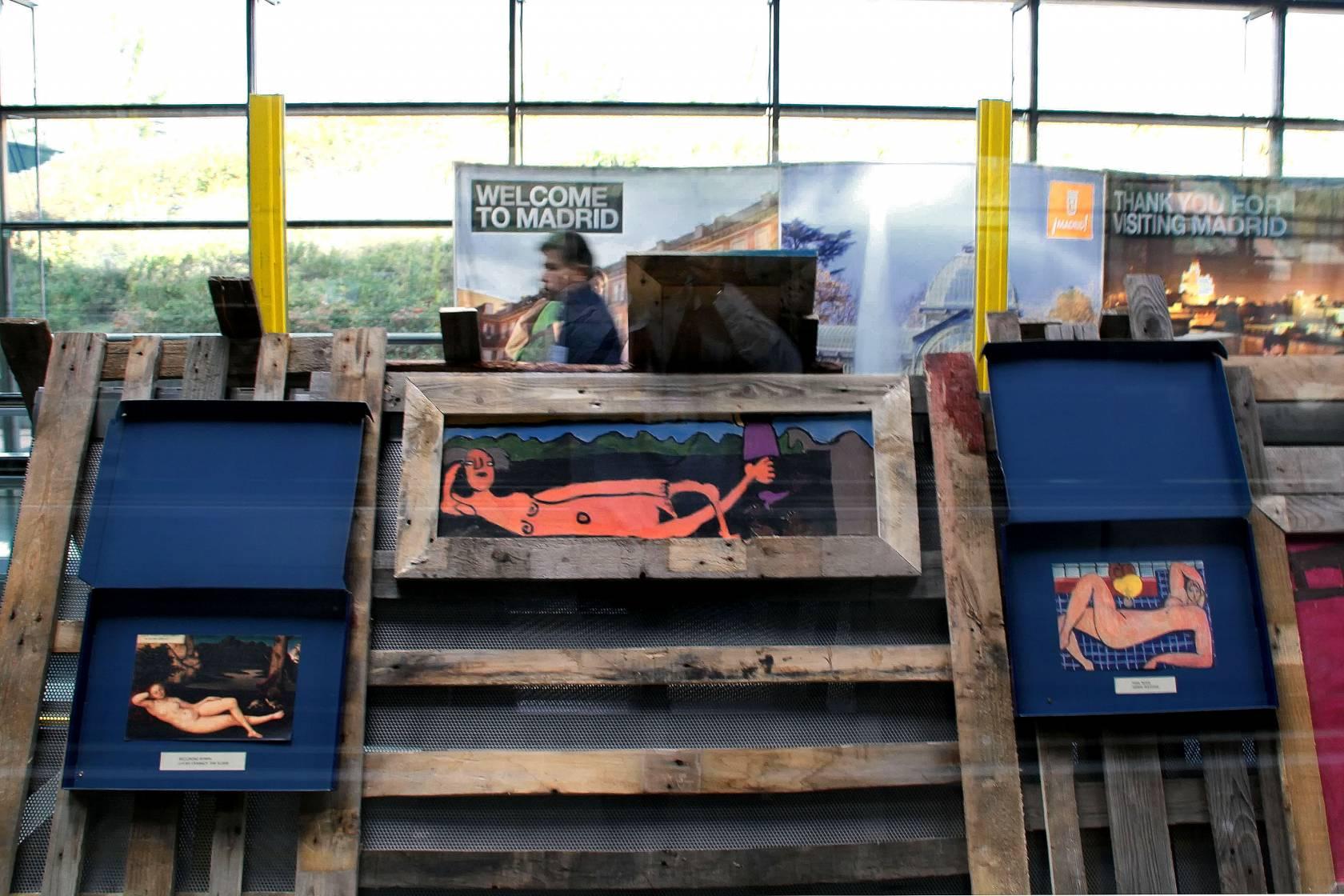 Exposición APAFAM en Barajas