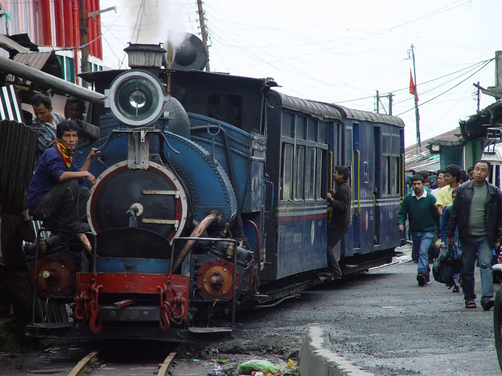 tren de Darjeeling