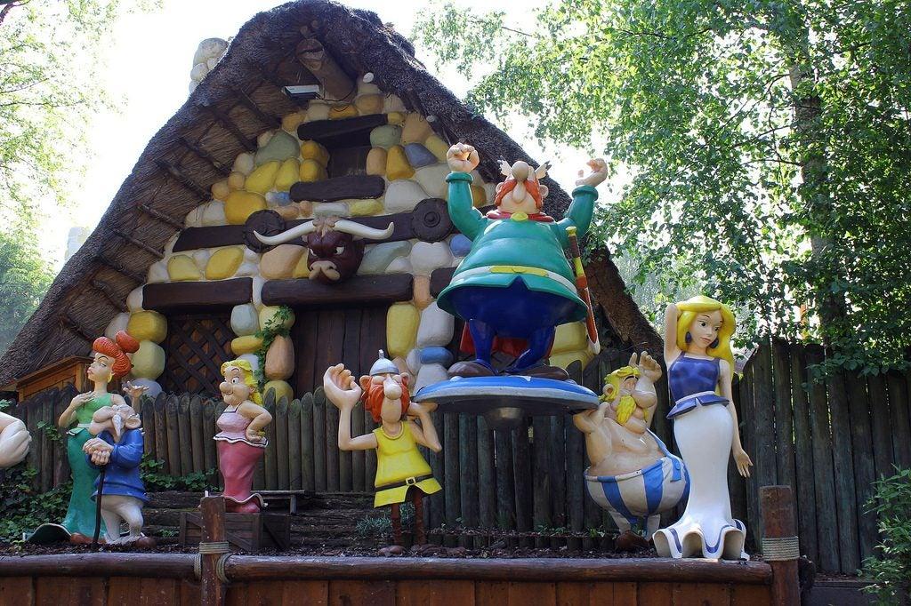 Los mejores parques de atracciones del mundo. Parque Asterix