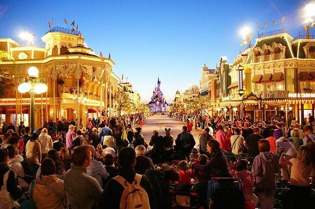 Los mejores parques temáticos del mundo. Disneyland París Cabalgata