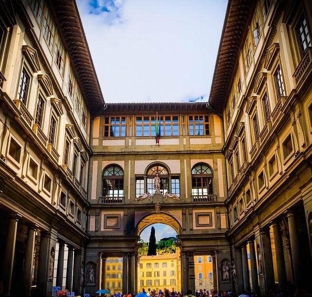 Los 15 museos más importantes de Occidente. Galeria Uffizi Florencia