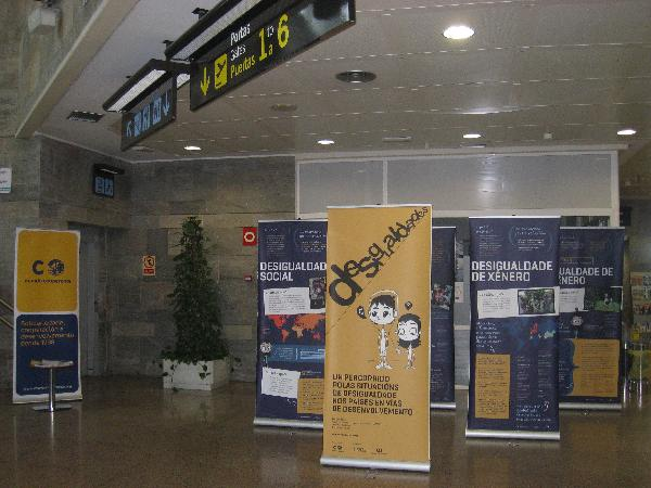 Exposición aeropuerto A Coruña