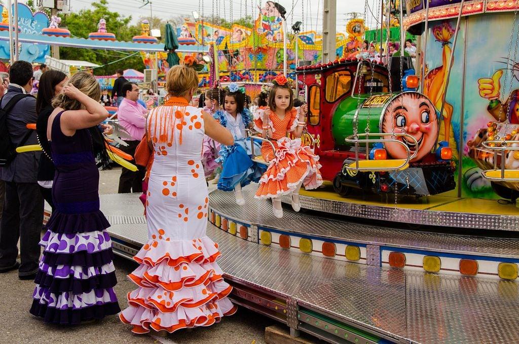 Feria de Abril Sevilla. La calle del infierno
