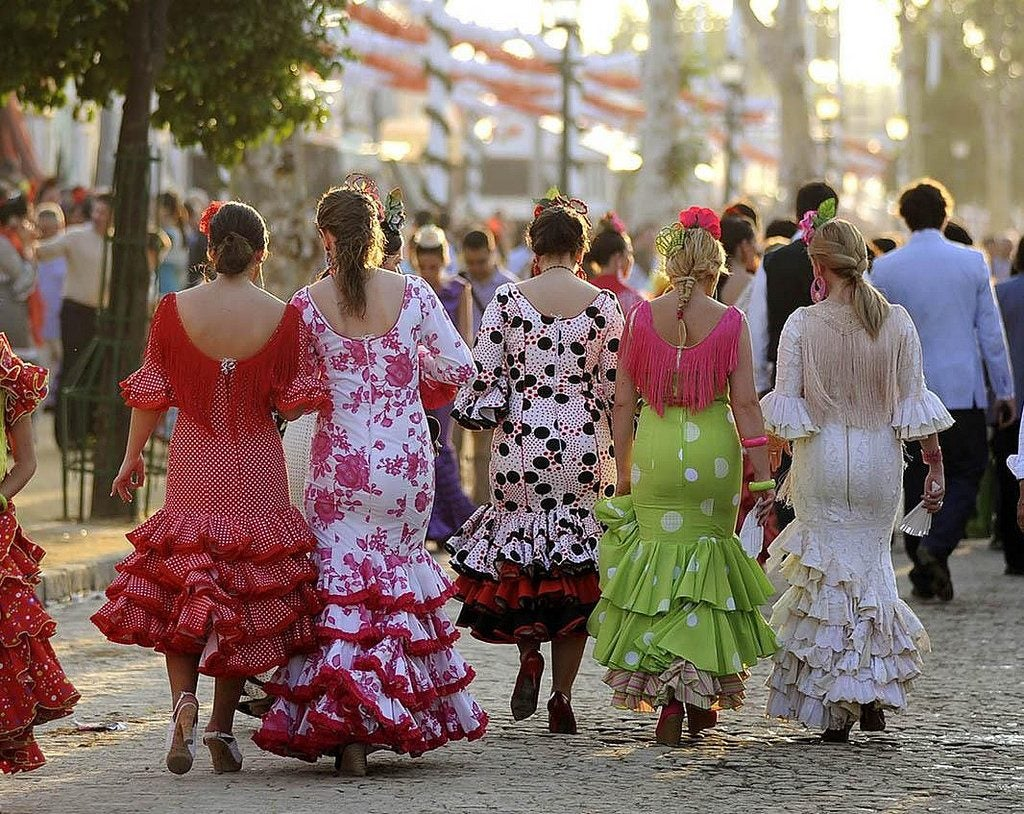 Feria de Abril Sevilla, sevillanas