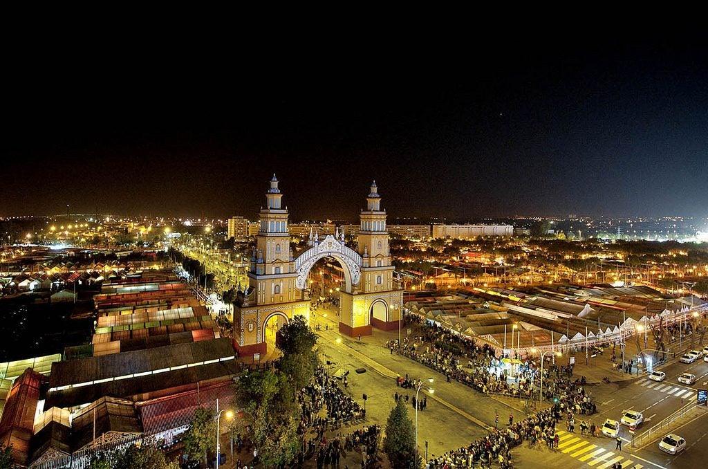 Feria de Abril Sevilla, recinto