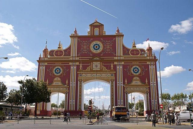 Feria de Abril Sevilla. La portada
