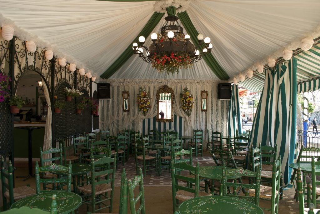 Feria de Abril Sevilla. Las casetas