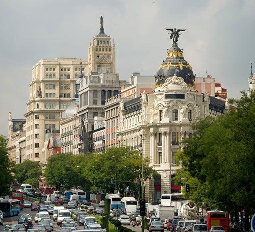 vistas de Madrid