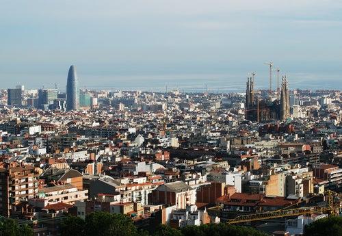 Conoce Barcelona A Vista De Pájaro Desde La Terraza De