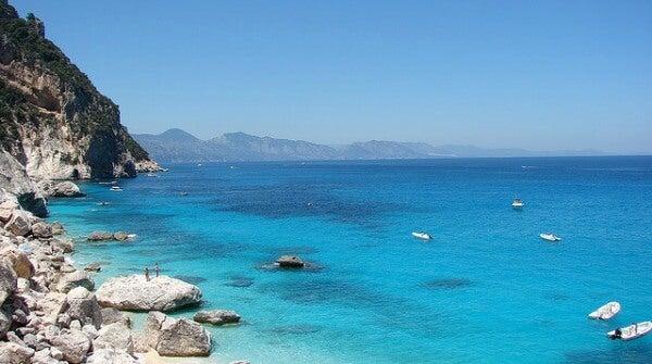 Costa Smerelda. Sardinia, Italia