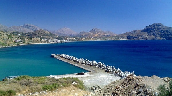 Plakias Beach. Creta