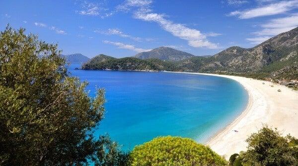 Playa Olüdeniz. Turquía