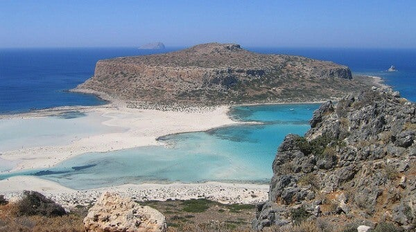 Playa de Balos. Creta