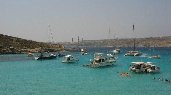 Playa de Blue Lagoon. Comino, Malta