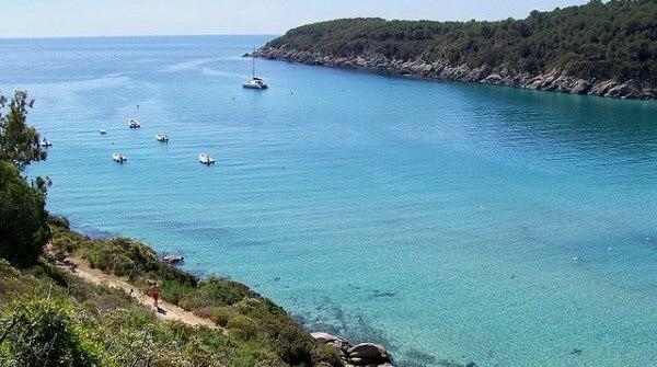 Playa de Fetovaia. Isola d'Elba, Italia