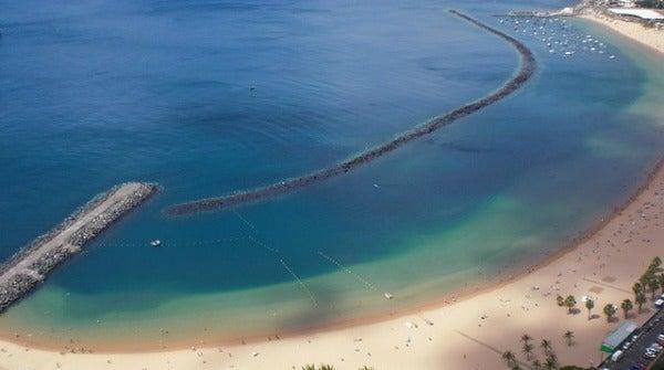 Playa de Las Teresitas. Tenerife, España