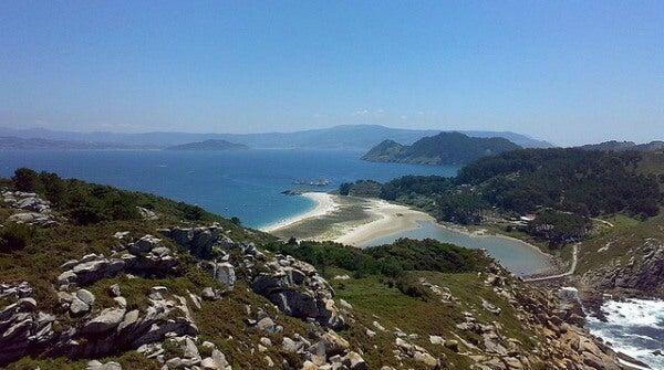 Playa de las Islas Cíes. Vigo, España