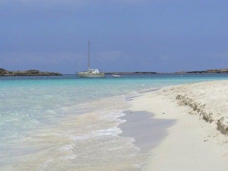 la playa de S'alga