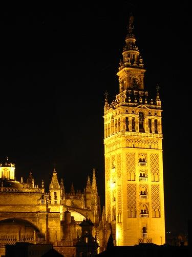 Giralda de noche. Sevilla