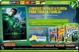 Nestle y eDreams