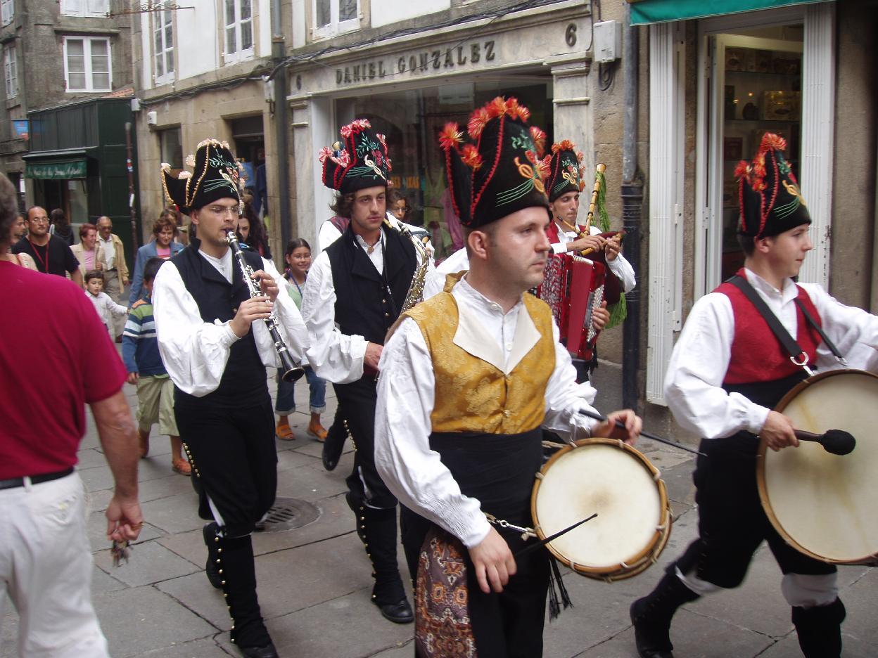 Fiestas Santiago Apóstol, Galicia