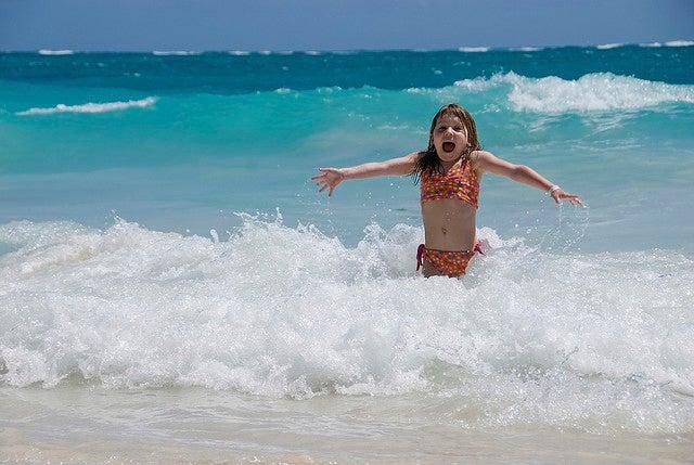 Divirtiendose en la Riviera Maya