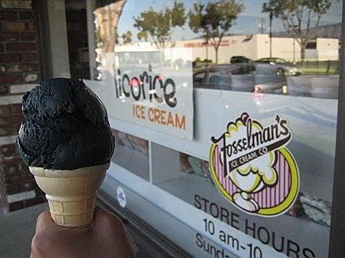 helado de regaliz