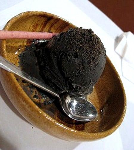 helado de sesamo negro