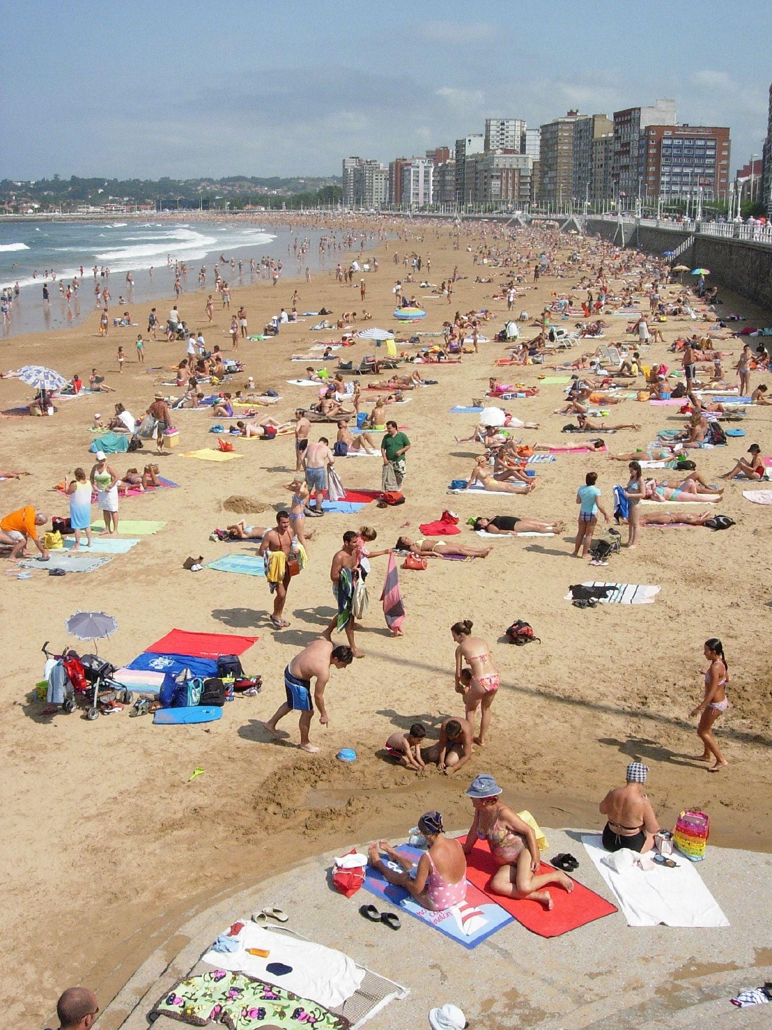playas verano España