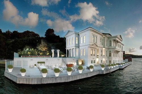 Terraza hotel ajia