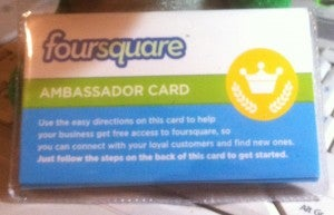 tarjeta de Foursquare de Taxi Oviedo