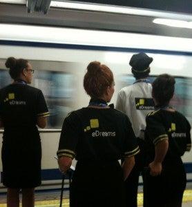Accion eDreams Metro Madrid