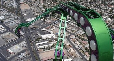 Stratosphere: el hotel con el parque de atracciones más alto del mundo