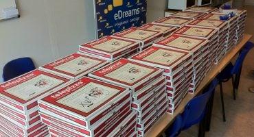 eDreams y Telepizza, unidas para regalar miles de premios