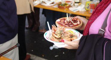 Dale un capricho a tu paladar y pásate por la Feria del Marisco de O Grove