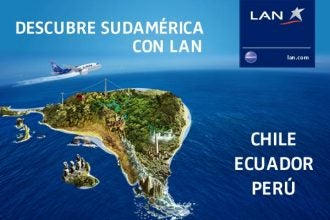 Campaña eDreams y LAN Airlines