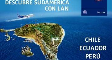 Cruza el charco y conoce los encantos de Sudamérica con LAN Airlines