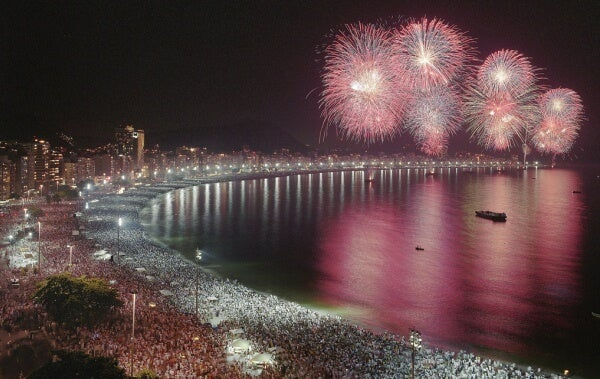 Copacabana- Río de Janeiro en Fin de Año