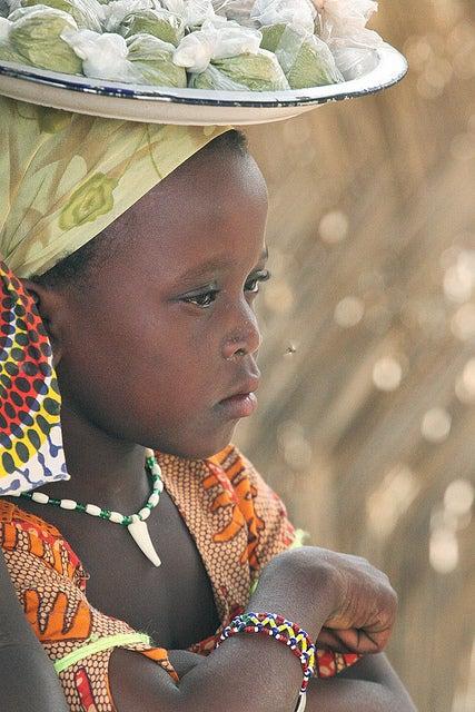 Niña en Niger