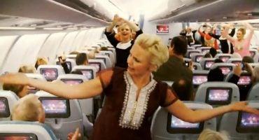 Bollywood a bordo de un avión