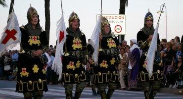 Fiesta de Moros y Cristianos de Bocairent, en Valencia