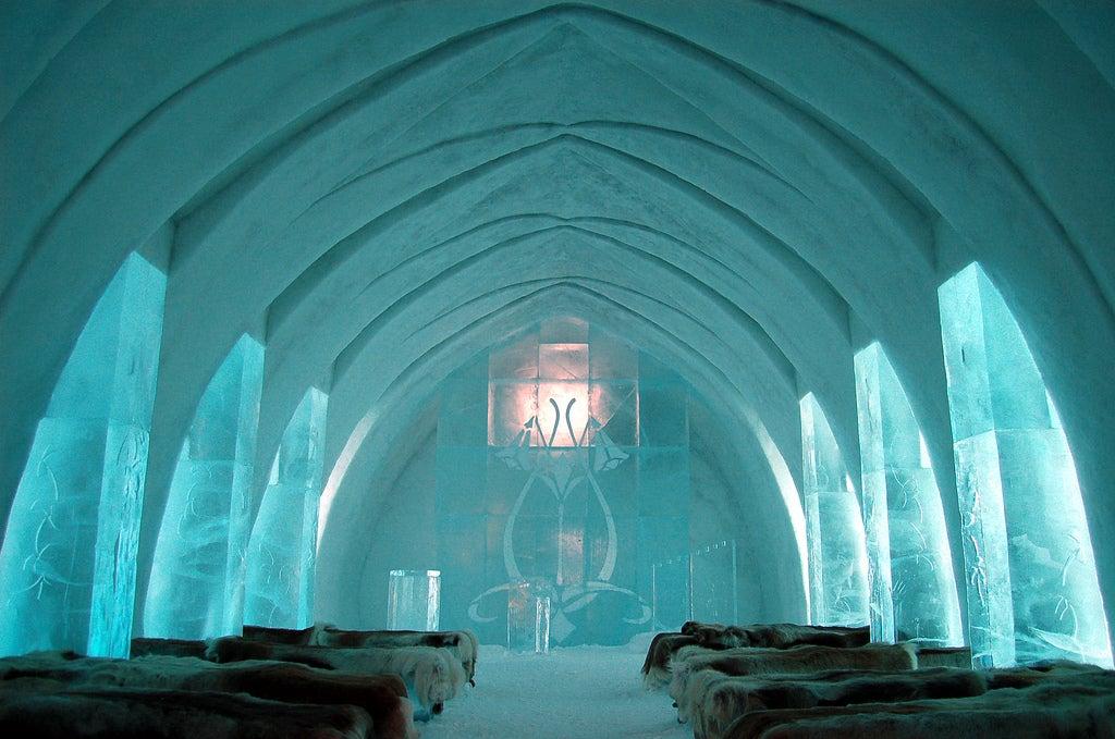 hotel de hielo