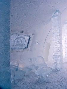 interior hotel hielo