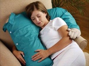 almohada brazo