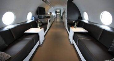 Alójate una noche en un avión reconvertido en hotel de lujo