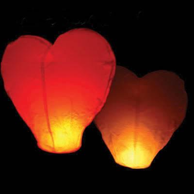 linternas corazon