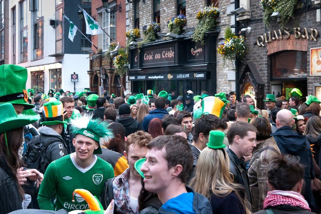 st patrick day Irlanda