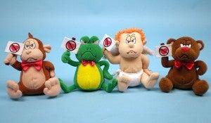 muñecos anti san valentin