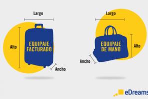 Conoce las medidas y tamaños de equipajes según la compañía aérea